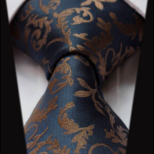 Elegantná sada - hodvábna kravata s vreckovkou - vzor06