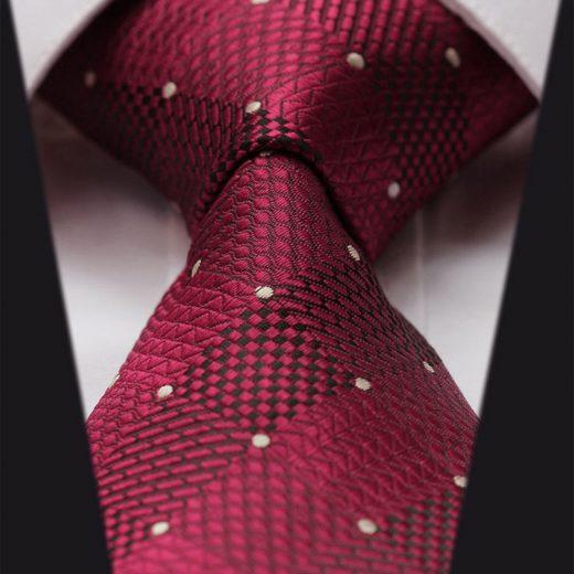 Luxusná pánska sada - kravata a vreckovka - vzor15