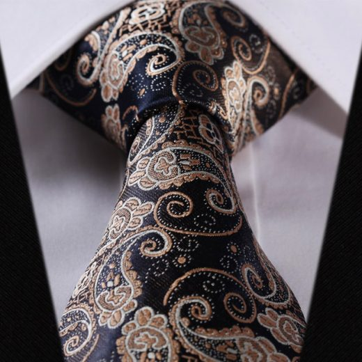Luxusná pánska sada - kravata a vreckovka - vzor05