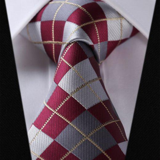 Luxusná pánska sada - kravata a vreckovka - vzor25